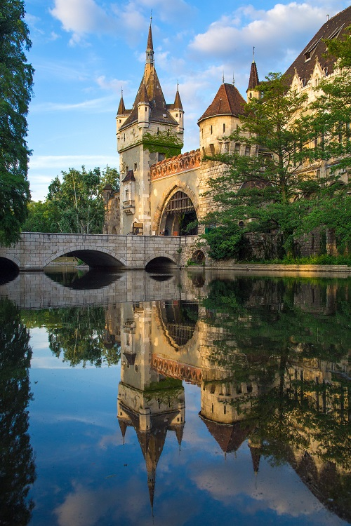 Vajdahunyad Castle Reflection500px